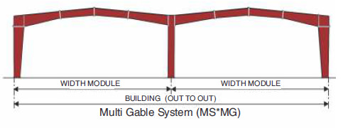 Multi-Star (MS*) Primary Framing Multi Gable System