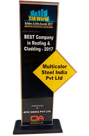 CIA World - Best Roofing & Cladding Trophy