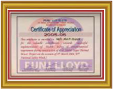Punj Lloyd Ltd. Safety Award