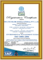 ISO certificate-14001-2004 for Environment Management System