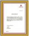 Areva T & D India Ltd. Safety Award