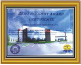 SMCC Construction India Ltd. Safety Award