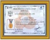 BALCO Safety Award (2011)
