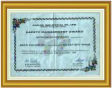 Daelim Industrial Co. Ltd. Safety Award