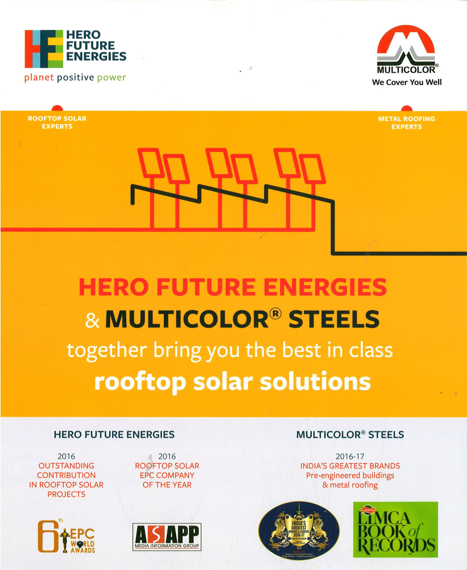 Roof & Rooftop Solar Solutions by Multicolor® Steels
