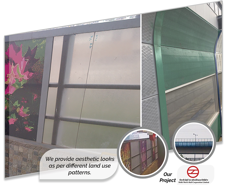Multicolor® Noise Barriers