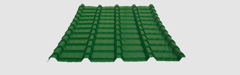 Economical Trapezoidal Ribbed Tile Screwdown Roof
