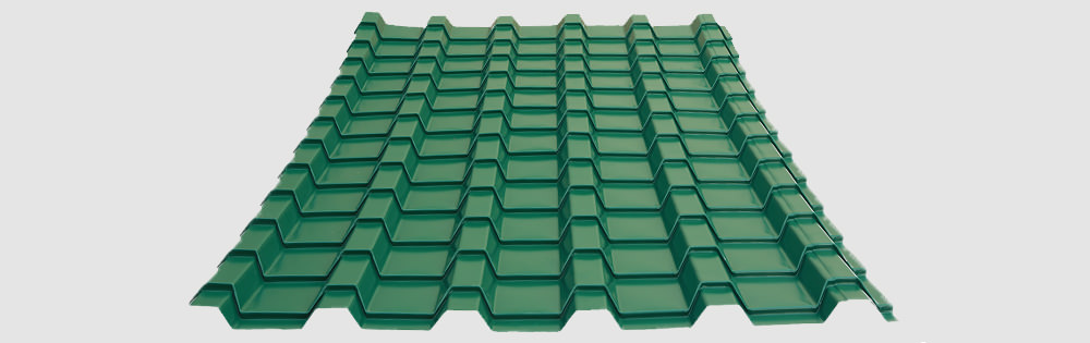 European Style Screwdown Tile Roofing