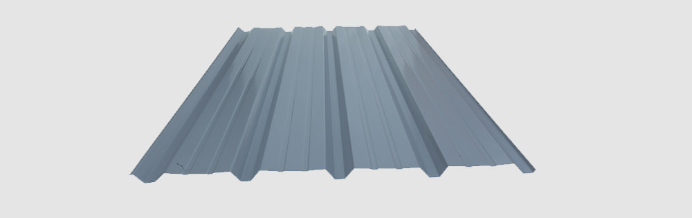Semi Concealed Fastener  Light Weight Economical Cladding Profile