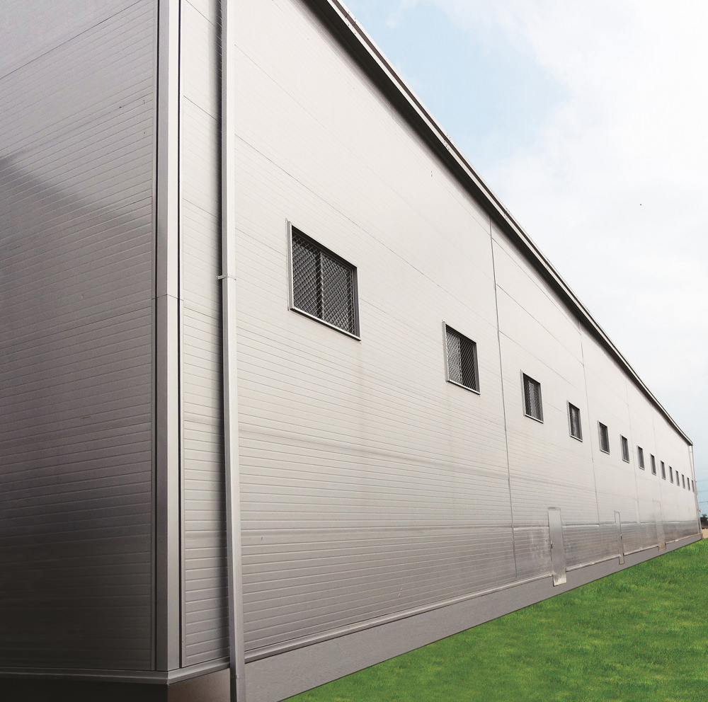 ThermoSteel™ Wall Panel Sandwich Panel Walls instead of